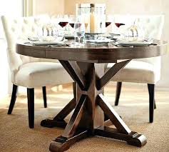 48 round kitchen table round dining table extending pedestal dining table alfresco brown pottery barn dining 48 round kitchen table