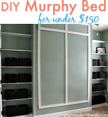 view in gallery your modern family wall bed tutorial