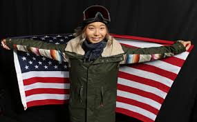 Famous asian amercan gold medalist