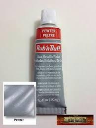 Details About M00227 Morezmore Fresh Amaco Rub N Buff Pewter Wax Metallic Finish