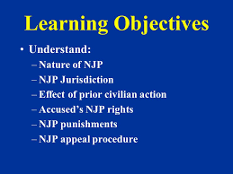 Nonjudicial Punishment Ppt Video Online Download