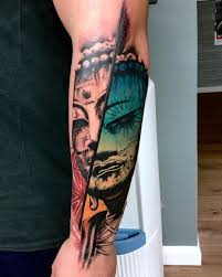 Irresistible 3d Glasses Tattoo Mexican Day Of The Dead Tattoo