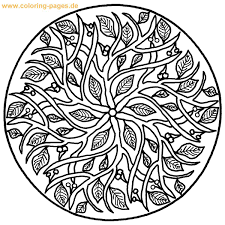 Small Picture Mandala Coloring Pages Online Images Coloring Mandala Coloring