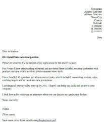 Example Of Cover Letter For Retail Job Great Sales Cover Letters Ideas Collection Retail Cover Letter