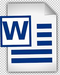 Free Word Document Download Microsoft Word Document Png Clipart Area Blog Blue