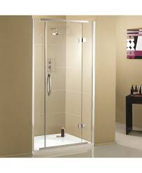 back to ideal hinged shower door