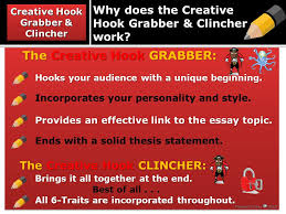 a good essay tells us the truth about its subject but a bad essay  why does the creative hook grabber clincher work