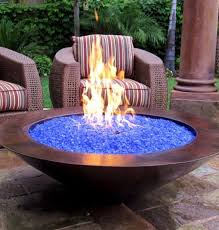 outside glass fire pits portable gas fire bowl gas burning outdoor fire pits