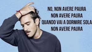 Tommaso Paradiso - Non avere paura (testo / Lyrics)