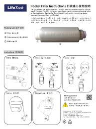 portable water filter diagram. Sterile Water Portable Filter Diagram