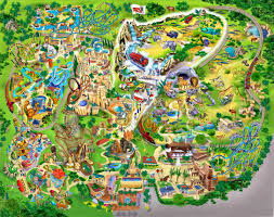busch gardens tampa 1999 theme park maps busch gardens tampa florida vacation florida travel