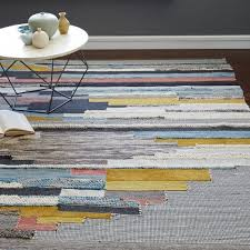 multi pixel woven rug west elm west elm outdoor rug