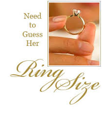 Female Ring Size Chart More Ways To Guess Her Ring Size