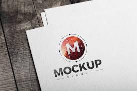 Free Logo Mockup Free Logo Psd Mockup