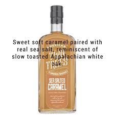 The salted caramel whiskey sauce is addictive and could also be poured over ice cream to make an irish sundae. Buy Two Trees Sea Salted Caramel Whiskey Great American Craft Spirts Great American Craft Spirits