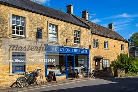 Bakery Storefront Bourton On The Water Gloucestershire The
