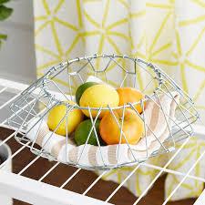 Folding Wire Storage Basket