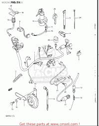 Suzuki gn250 1988 j usa e03 wiring harness buy original wiring
