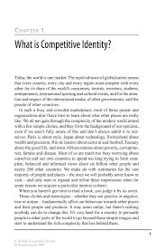 competitive identity springer competitive identity competitive identity