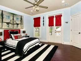Red Black And White Bedroom Decorating Ideas Bedroom Creative Design ...