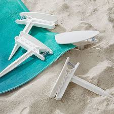 beach towels on sand. Beach Towel Anchor Stakes - Set Of 4 19088 Towels On Sand