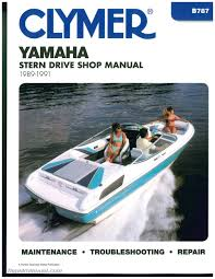 yamaha stern drive 1989 1990 1991 clymer boat engine repair manual yamaha stern drive boat engine repair manual 1989 1990 1991 by clymer2