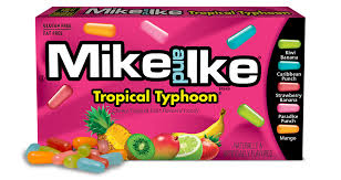 Mega Mix Assorted Fruit Candy Mike And Ike