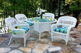 outdoor white wicker furniture nice. Portside 5 Piece Wicker Dining Set White Outdoor Sets Patio Chairs Furniture Nice N