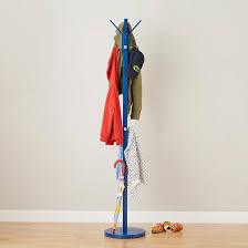 Land Of Nod Coat Rack Branching Out Coat Rack Blue The Land of Nod Living Room 15
