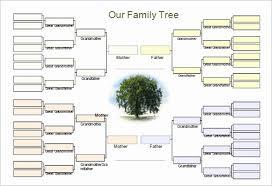 Editable Family Tree Template Word Fresh 30 Free Genogram Templates