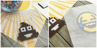 Emoji Perler Bead Patterns Stunning DIY Perler Bead Poo Emoji