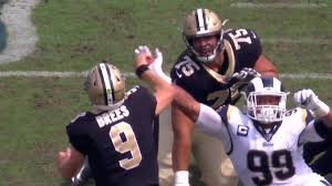 Drew Brees suffers throwing hand injury against Rams, Teddy ...