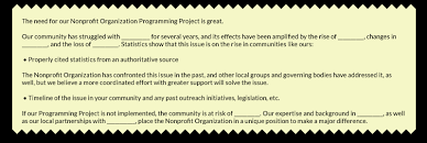 The Fundamental Grant Proposal Template 8 Crucial Components