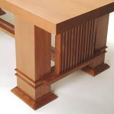 frank lloyd wright allen table 605