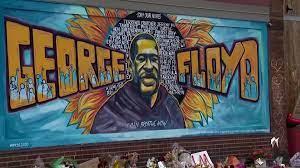 George Floyd mural in Minneapolis ...