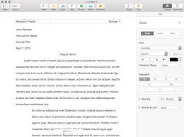 college writing format 5 mac word processors to help you write that college paper