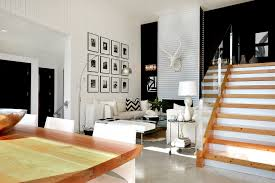 diy metal wall art living room contemporary with glass guardrail wood paneling