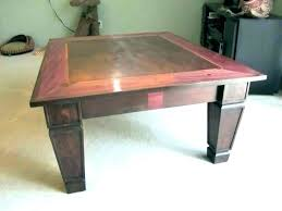 table square coffee table plans mission style free woodworking