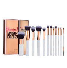 makeup brush essential kit set