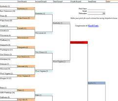 Excel Ncaa Tournament Bracket Geektonic Ncaa Basketball Tournament Bracket 2010 Excel Free Download