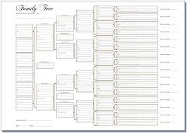 Free Family Tree Chart 8 Best Images Of Easy Free Family Tree Chart Blank Family Tree