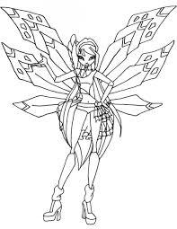 Công chúa phép thuật Winx tô màu đẹp nhất - Tranh Tô Màu cho bé