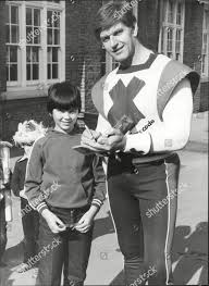 Actor Dave Prowse David Prowse Mbe born Editorial Stock Photo - Stock Image