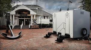 bathroom trailer rental. Contemporary Bathroom The Driftwood Bathroom Trailer Inside Trailer Rental