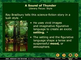 sound of thunder essay document essays and term papers for students blogger