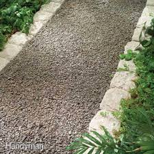 Small Picture Planning a Backyard Path Gravel Paths Gravel stones Garden