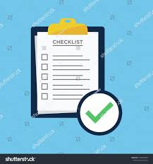Checklist Design Template Checklist Report Icon Vector Design Template Stock Vector