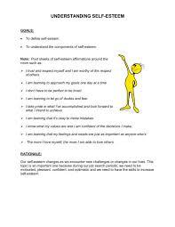 Understanding Self-Esteem Lesson Plan for 7th - 9th Grade | Lesson ...