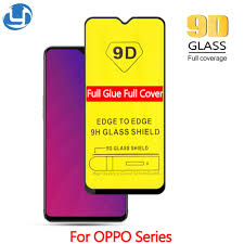 <b>9D Full Cover Tempered</b> Glass OPPO F11 F9 Pro A3 A5 s Realme 3 ...