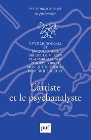 Lartiste Et Le Psychanalyste Joyce Mcdougall Cairninfo